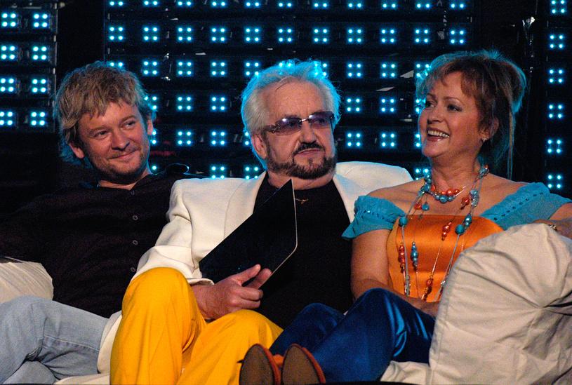 Danusia i Zbyszek z Pawłem Stasiakiem (2006 r.) /Krzysztof Jarosz /Agencja FORUM