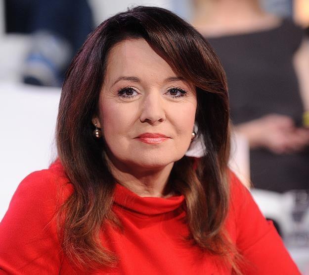 Danuta Holecka, prezenterka Wiadomości TVP. Fot. Michał Wargin /Agencja SE/East News