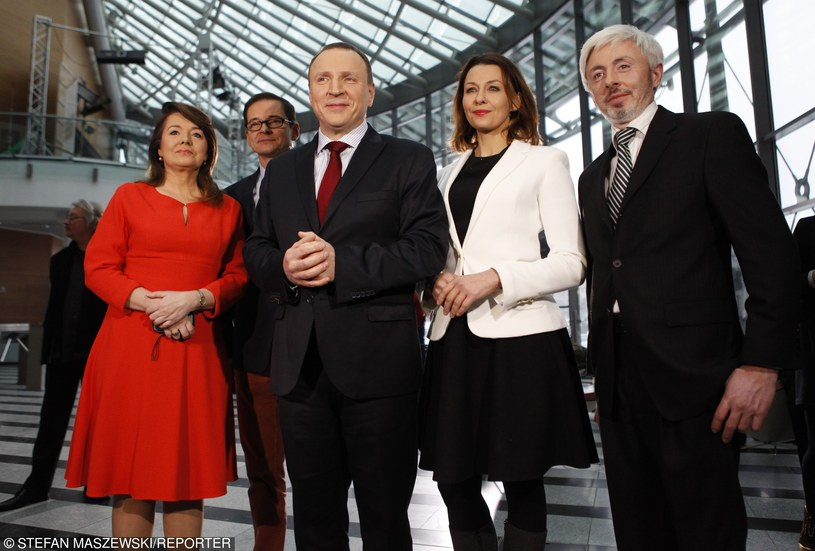 Danuta Holecka z prezesem TVP, Jackiem Kurskim /- /East News