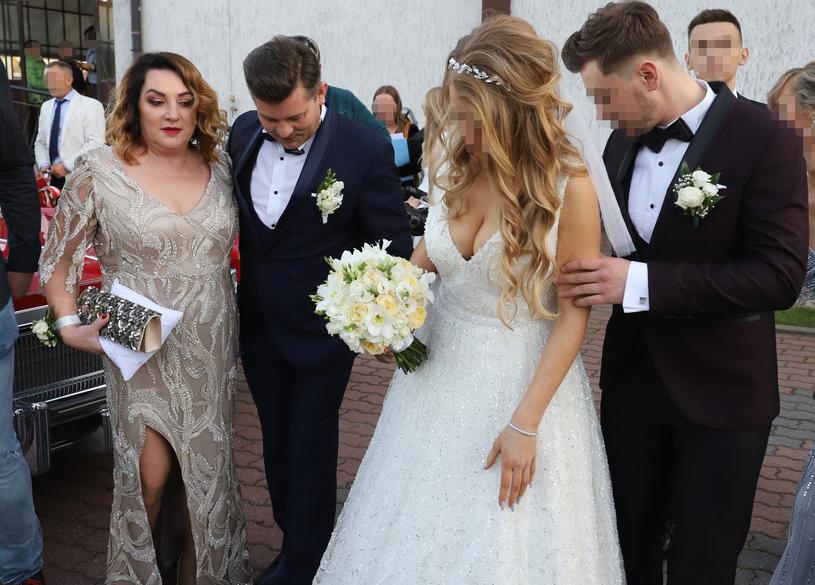 Danuta i Zenon Martyniukowie wyprawili synowi huczne wesele. /Anatol Chomicz /East News
