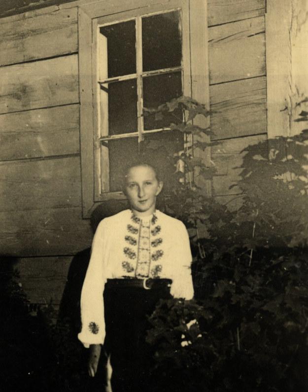 Danuta Siedzikówna, zdjęcie z kwietnia 1945 r. Fot. z archiwum rodzinnego siostry /materiały prasowe