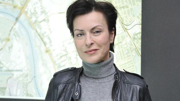 "Danuta Stenka na planie serialu ""Instynkt"" / fot. Niemiec /AKPA"