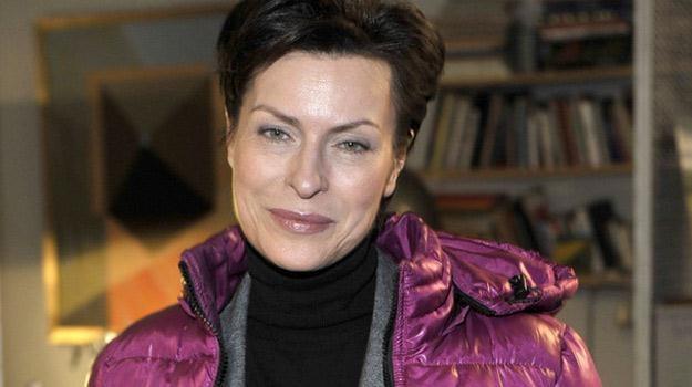 Danuta Stenka w roli Anny Oster nie spodobała się widzom /AKPA