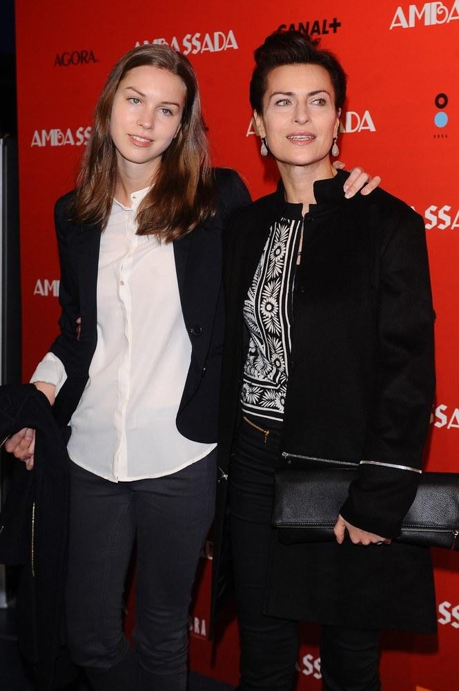 Danuta Stenka z córką Pauliną /East News