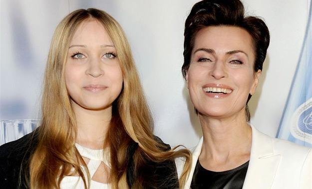 Danuta Stenka z córką Wiktorią /Agencja W. Impact