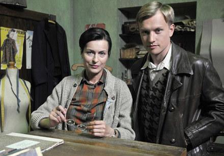 Danuta Stenka zagra byłą bibliotekarkę, która pod pseudonimem Margaret będzie rozpracowywać Abwehrę /AKPA