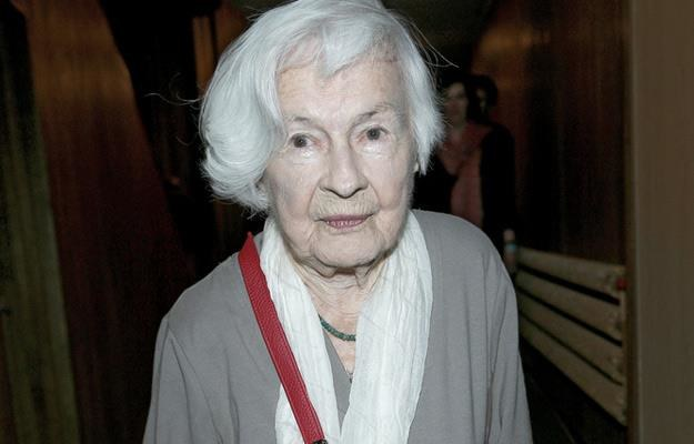 Danuta Szaflarska - aktorka, która ma już 100 lat /AKPA