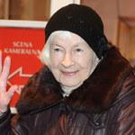 Danuta Szaflarska dochodzi do zdrowia!