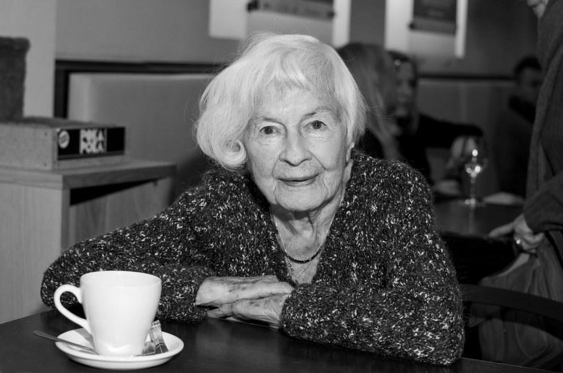 Danuta Szaflarska miała 102 lata /Justyna Rojek /East News