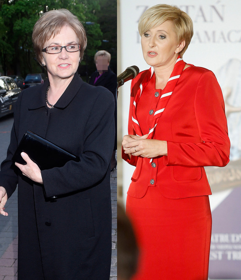 Danuta Wałęsa, Agata Kornhauser-Duda /Piętka/Podlewski /AKPA