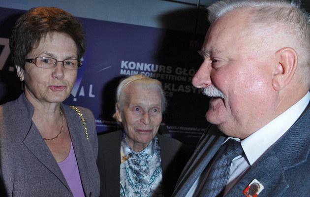Danuta Wałęsa, Lech Wałęsa /Andras Szilagyi /MWMedia