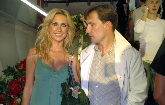 Darek Kordek z byłą żoną Agnieszką, fot. Marek Ulatowski  /MWMedia