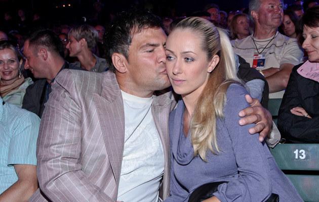 Darek Michalczewski z żoną Basią, fot. Paweł Przybyszewski  /MWMedia