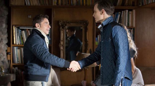 Darek zwierzy się Markowi, że nie kocha Uli... /Agencja W. Impact