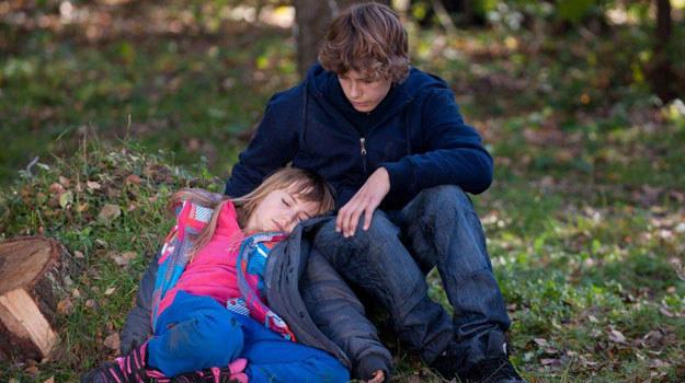 Daria i Dominik zagubieni w lesie /TVN