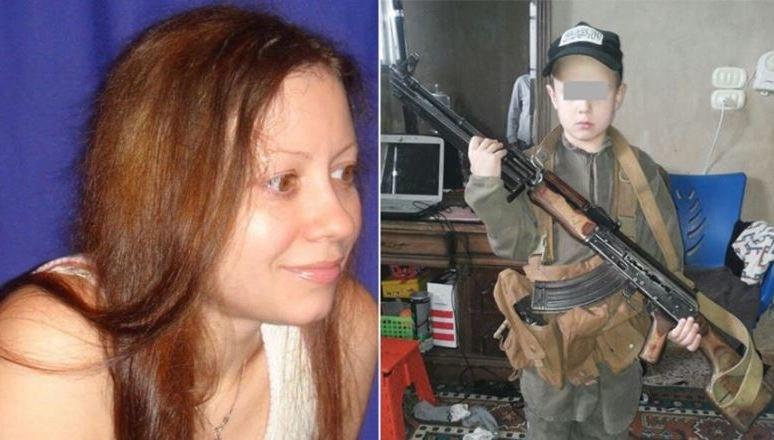 Daria Icenkowa i jej syn Dawid /materiały prasowe /Materiały prasowe