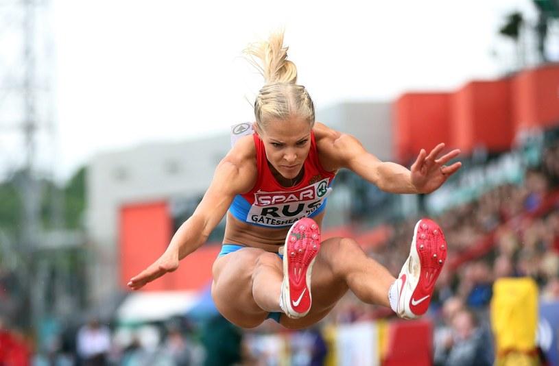 Daria Kliszina podczas mistrzostw Europy w 2013 roku /AFP