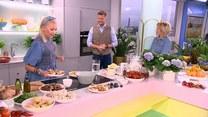 Daria Ładocha i kuchnia pełna grzybów