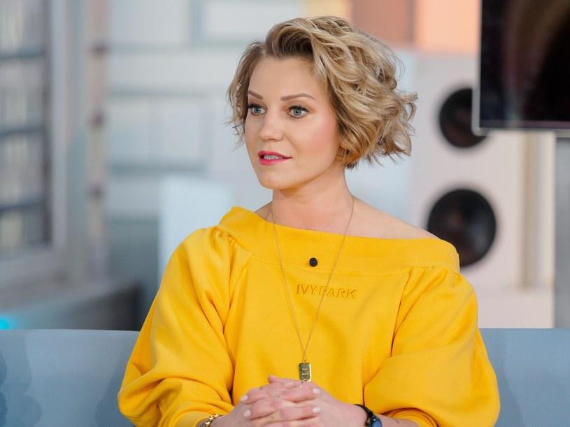 Daria Ładocha uwielbia gotować, ale wyłącznie szybkie i zdrowe potrawy. Fot. Tomasz Urbanek/Dzień Dobry TVN /East News