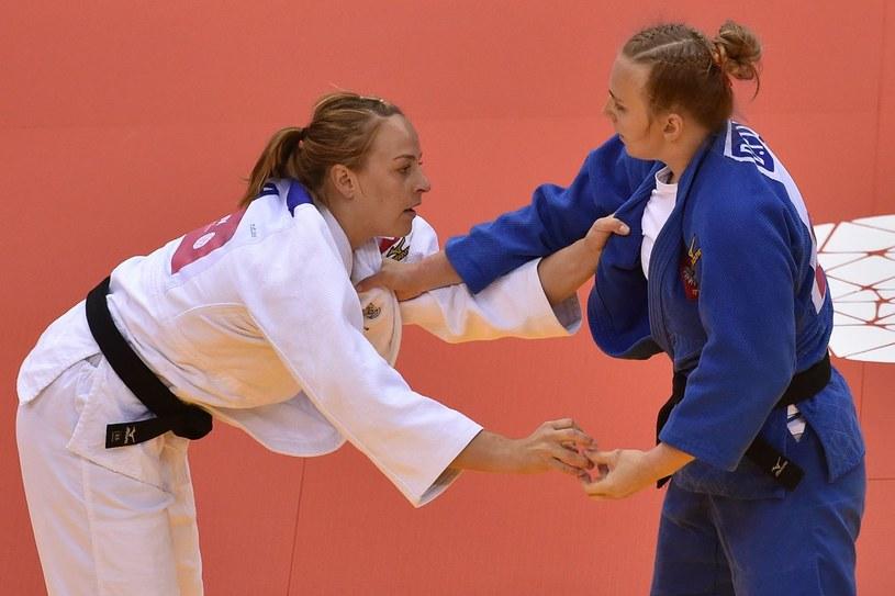 Daria Pogorzelec (z prawej) /AFP