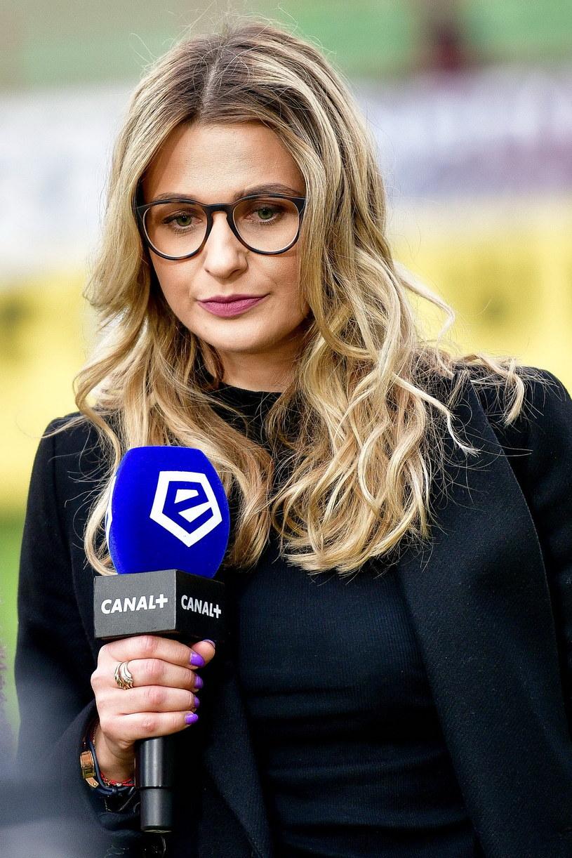 Daria Wollenberg - rzecznik prasowy Rakowa Częstochowa /PAWEŁ PIOTROWSKI/400mm.pl / NEWSPIX.PL /Newspix