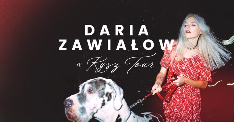 Daria Zawiałow rusza w trasę /materiały prasowe