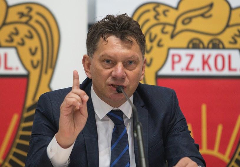 Dariusz Banaszek, prezes PZKOl-u /Tomasz Jastrzębowski /East News
