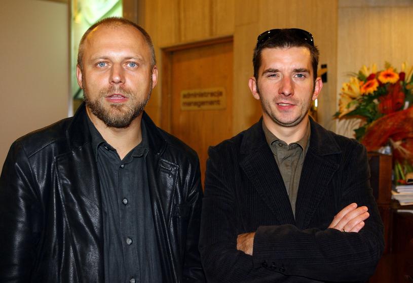 Dariusz Basiński, Jacek Borusiński /Piotr Fotek /Reporter