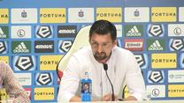 Dariusz Dudek po meczu Legia - Zagłębie 2-1. Wideo