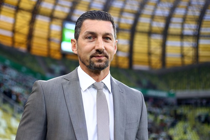Dariusz Dudek, szkoleniowiec GKS-u Katowice /Fot. Piotr Matusewicz /East News