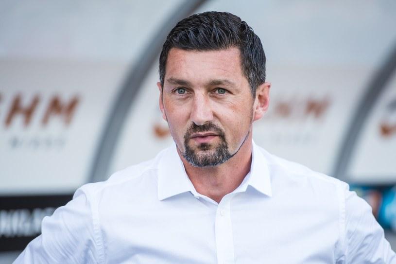 Dariusz Dudek, trener Zagłębia Sosnowiec /Fot. Piotr Dziurman/REPORTER /