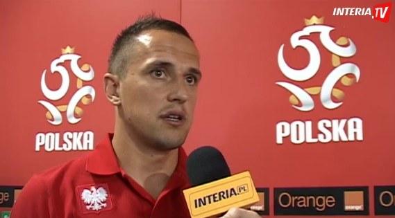 Dariusz Dudka grał na Euro 2012, teraz stara się pomóc Wiśle Kraków. /INTERIA.PL