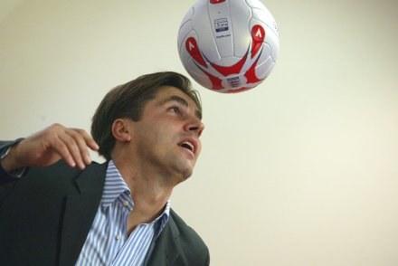 Dariusz Dziekanowski nie zapomniał jak się strzela bramki, fot. Michał Wielgus /Agencja Przegląd Sportowy