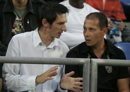 Dariusz Gęsior (z lewej) /Agencja Przegląd Sportowy