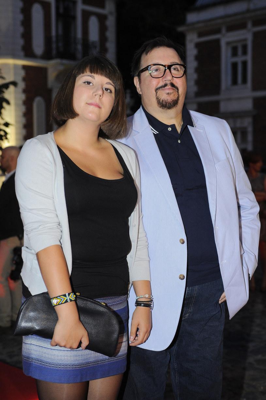 Dariusz Gnatowski z córką, 2013 r. /Michał Wargin /East News