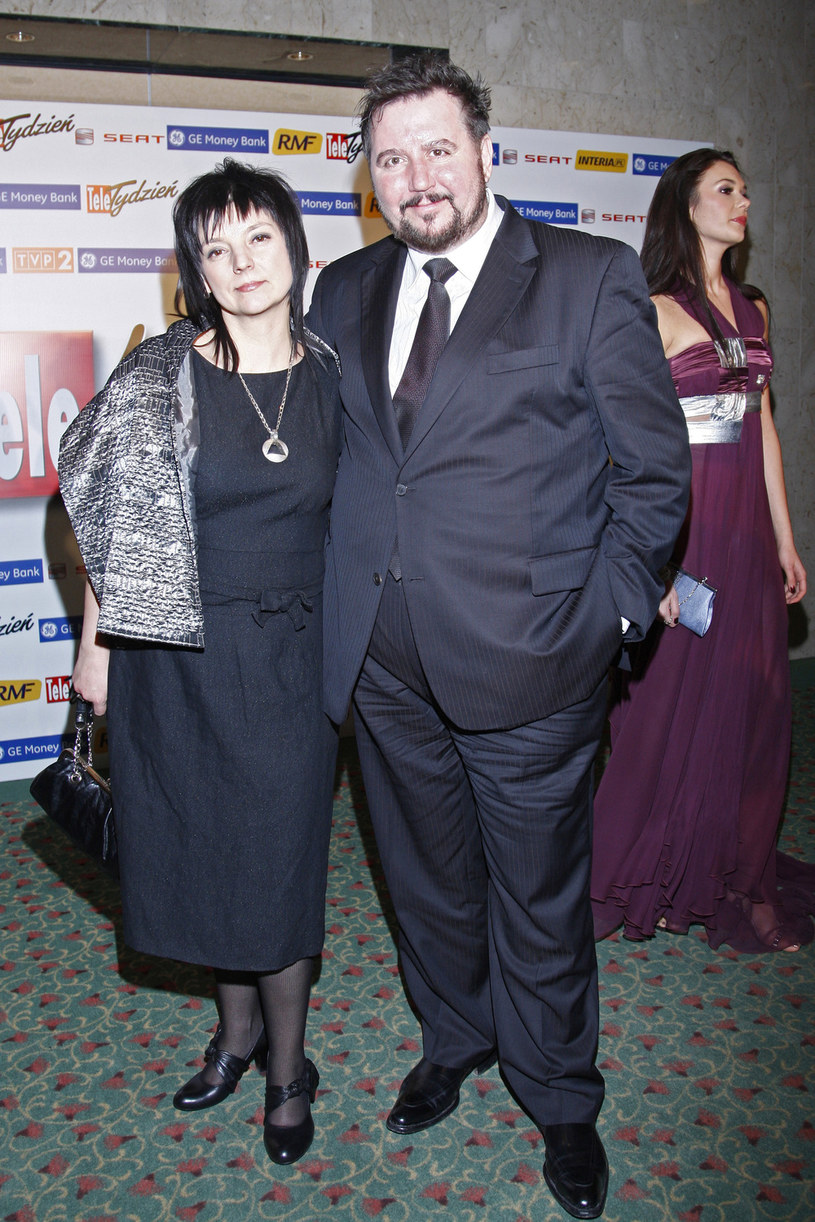 Dariusz Gnatowski z żoną /GrąbczewskiDariusz  /AKPA
