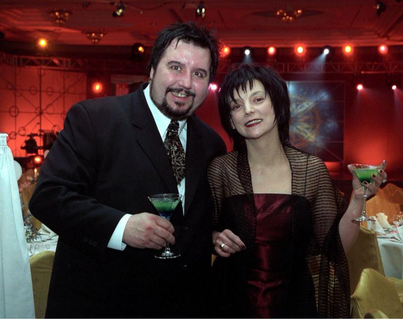 Dariusz Gnatowski z żoną /Jacek Murawski /East News
