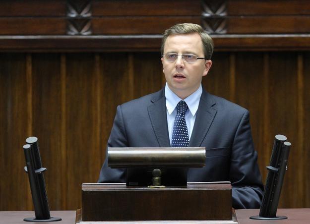 Dariusz Joński, rzecznik SLD. Fot. STANISŁAW KOWALCZUK /Agencja SE/East News