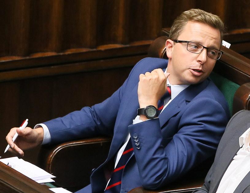 Dariusz Joński w piątek w Sejmie /Paweł Supernak /PAP