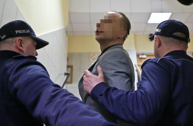 Dariusz K. w sądzie /PAP/Rafał Guz /PAP