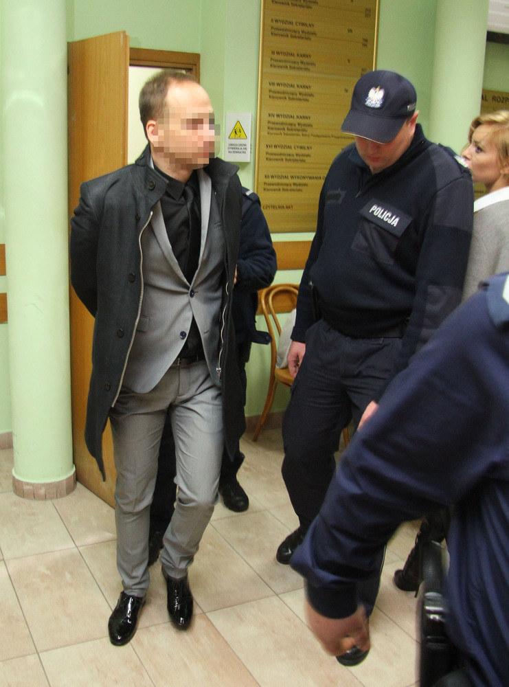 Dariusz K. w sądzie /Marcin Smulczyński /East News