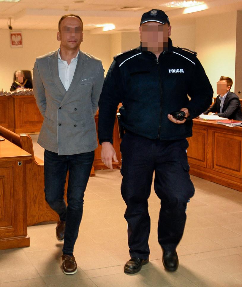 Dariusz K. zeznawał w procesie dilera gwiazd /Newspix