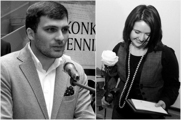 Dariusz Kmiecik i Brygida Frosztęga-Kmiecik /Stowarzyszenie Media dla Integracji Europejskiej; Tomasz Gzell /PAP