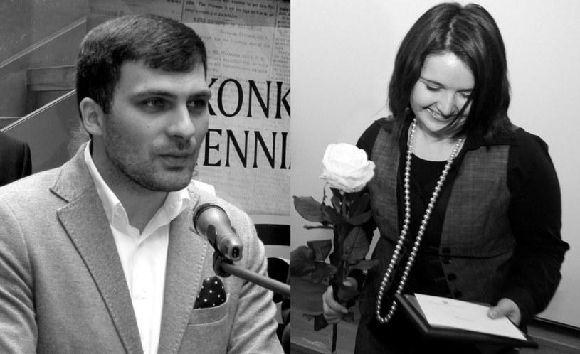 Dariusz Kmiecik i Brygida Frosztęga-Kmiecik /PAP