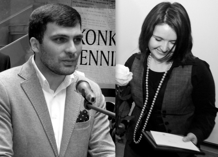 Dariusz Kmiecik i Brygida Frosztęga-Kmiecik /Stowarzyszenie Media dla Integracji Europejskiej/Tomasz Gzell /PAP