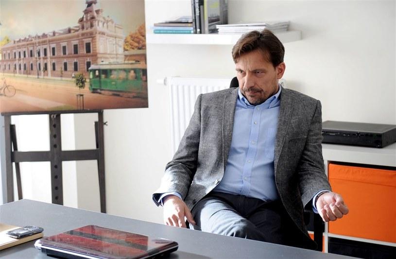 """Dariusz Kordek w """"Komisarzu Aleksie"""" /Agencja W. Impact"""