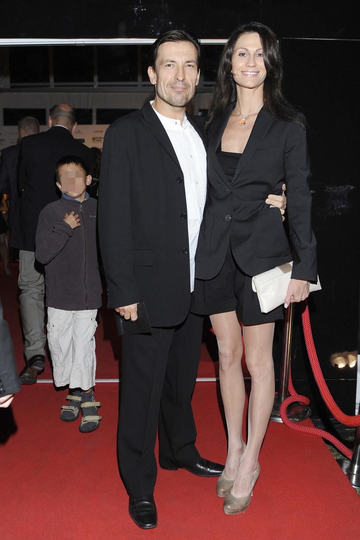 Dariusz Kordek z drugą żoną, Elizą Jędrzejewską /Jacek Kurnikowski /AKPA