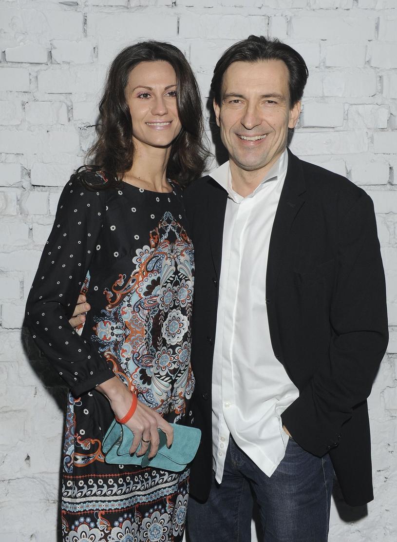 Dariusz Kordek z żoną Elizą /East News