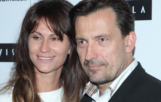 Dariusz Kordek z żoną /- /MWMedia