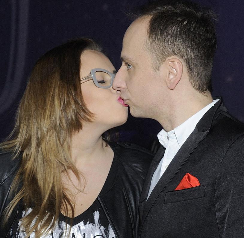 Dariusz Krupa z siostrą Dorotą /Jarosław Antoniak /MWMedia